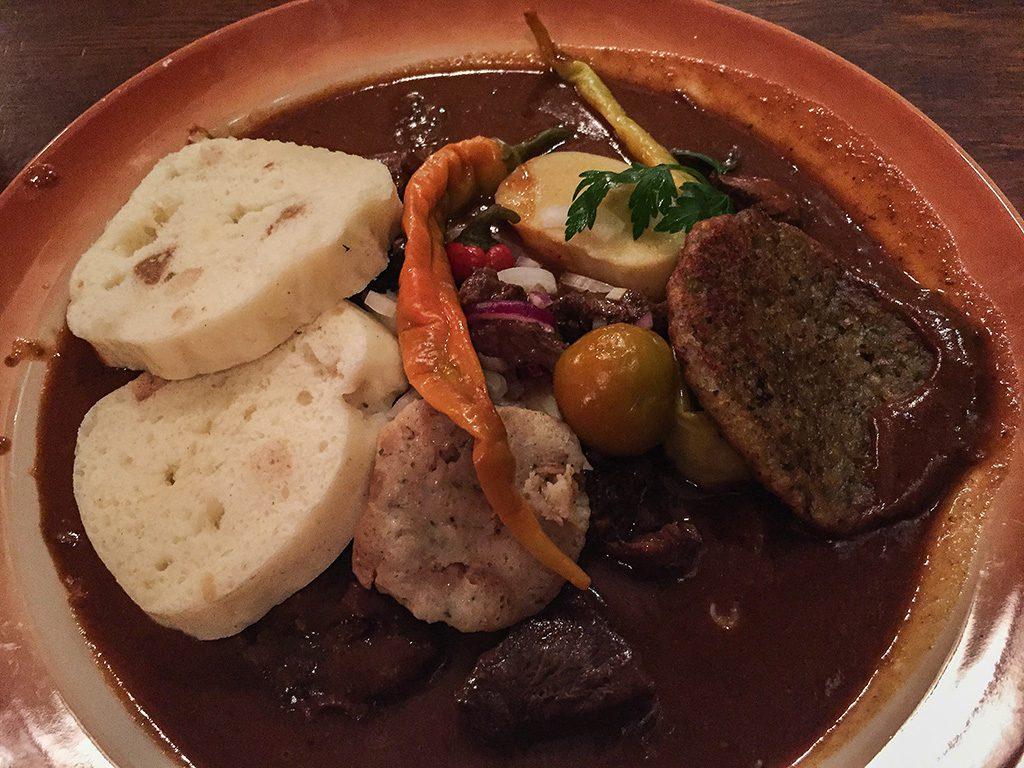 Comida típica Praga