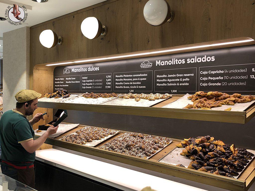 donde comer en Madrid manolo bakes surtido