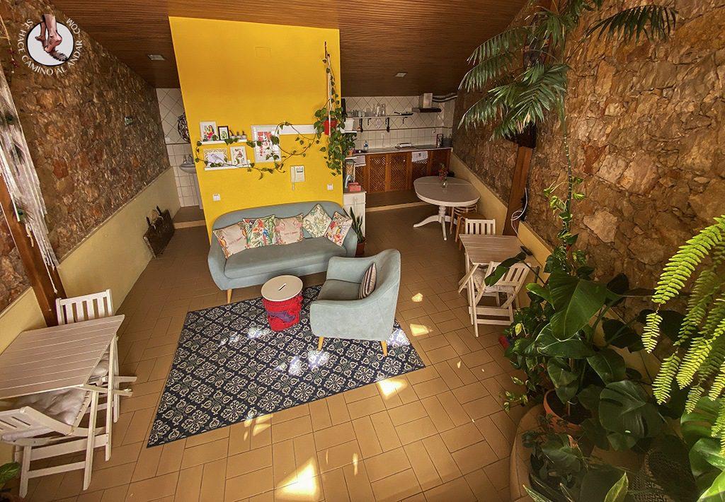 dormir en faro Sunlight House cocina