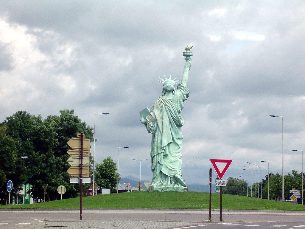 Que ver en Colmar estatua libertad