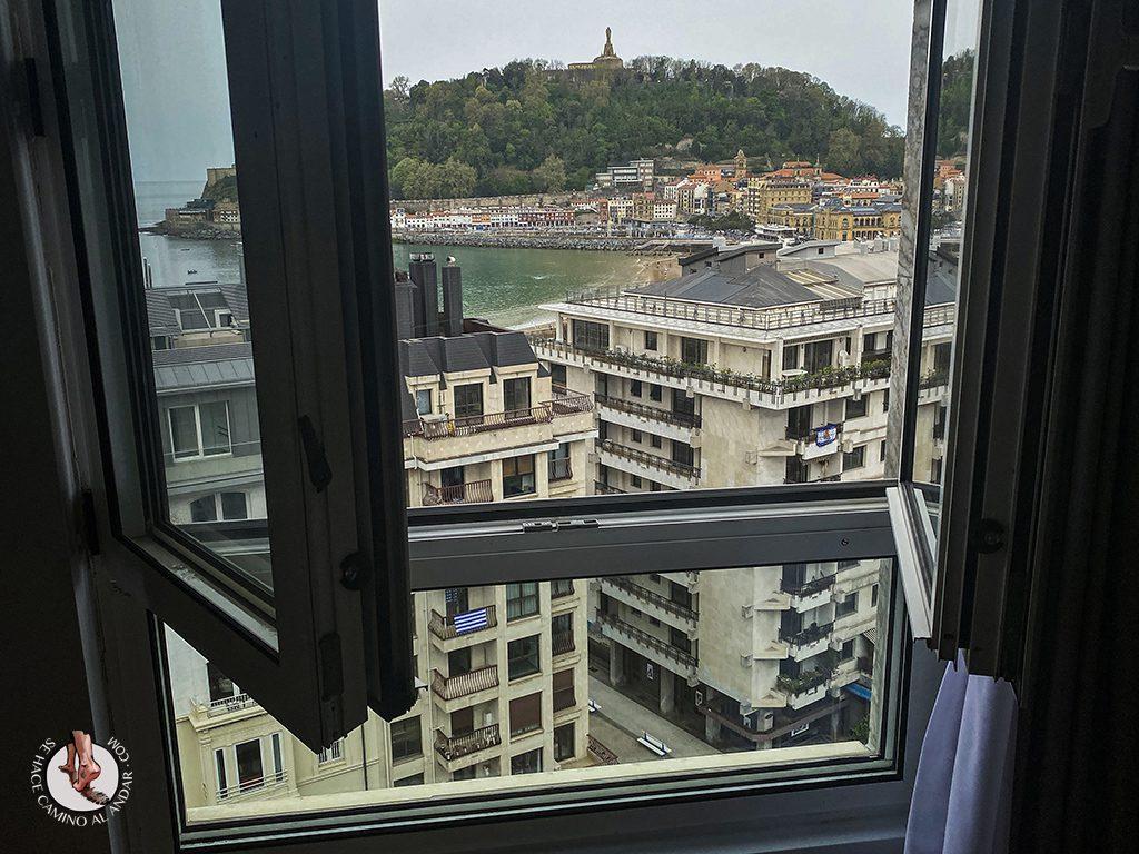 hoteles san sebastian Hotel Tryp Orly ventana