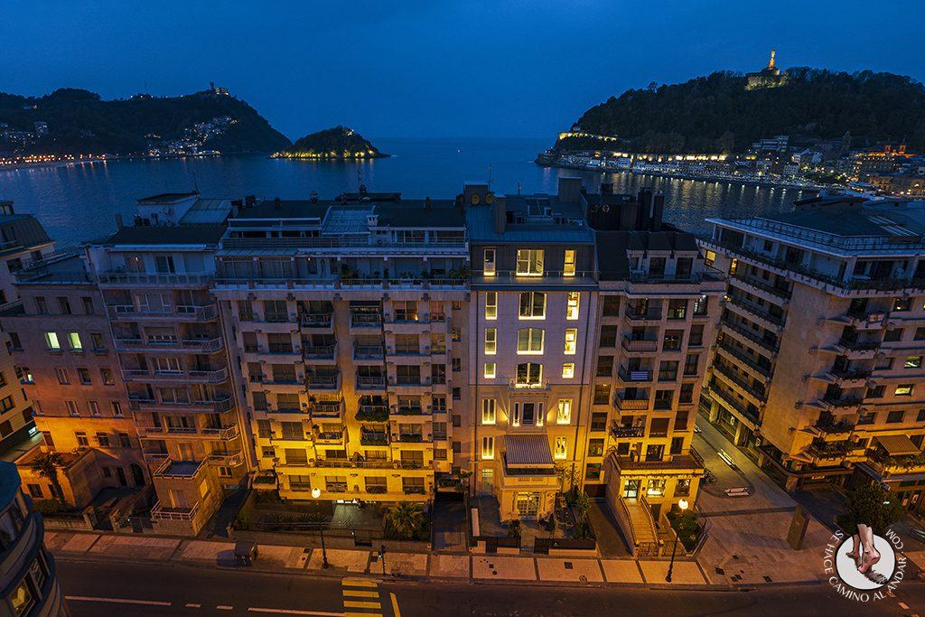 hoteles san sebastian Hotel Tryp Orly vistas atardecer