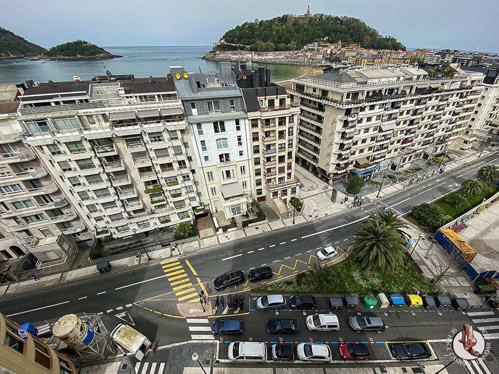 hoteles san sebastian Hotel Tryp Orly vistas
