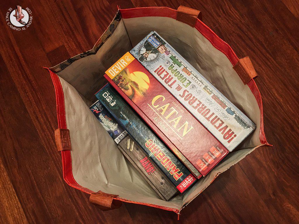 juegos de mesa para viajar bolsa
