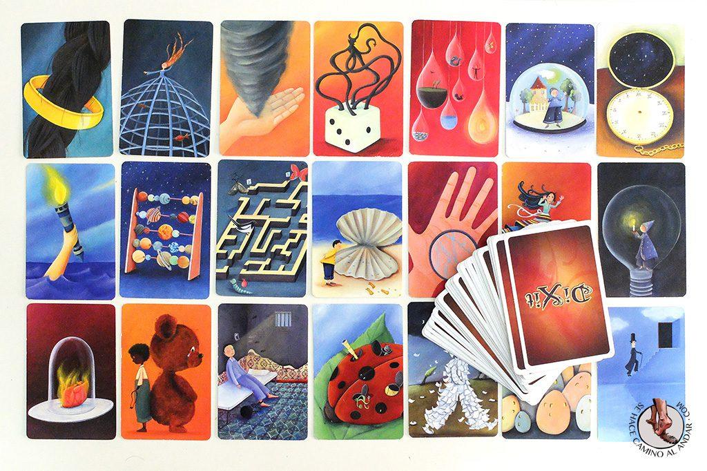 juegos de mesa para viajes dixit cartas