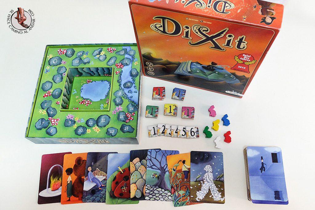 juegos de mesa para viajes dixit