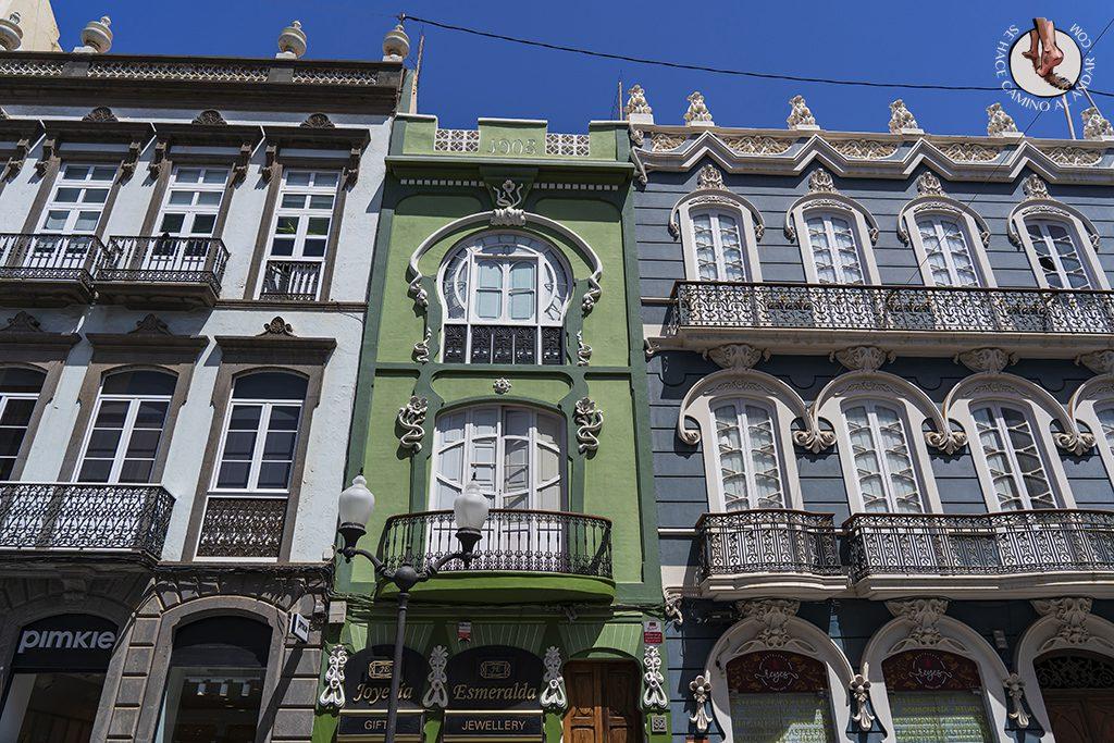 las palmas barrio triana casas coloniales
