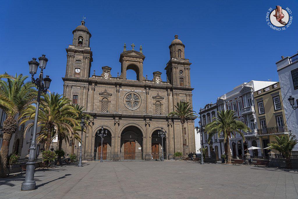 las palmas catedral de santa ana