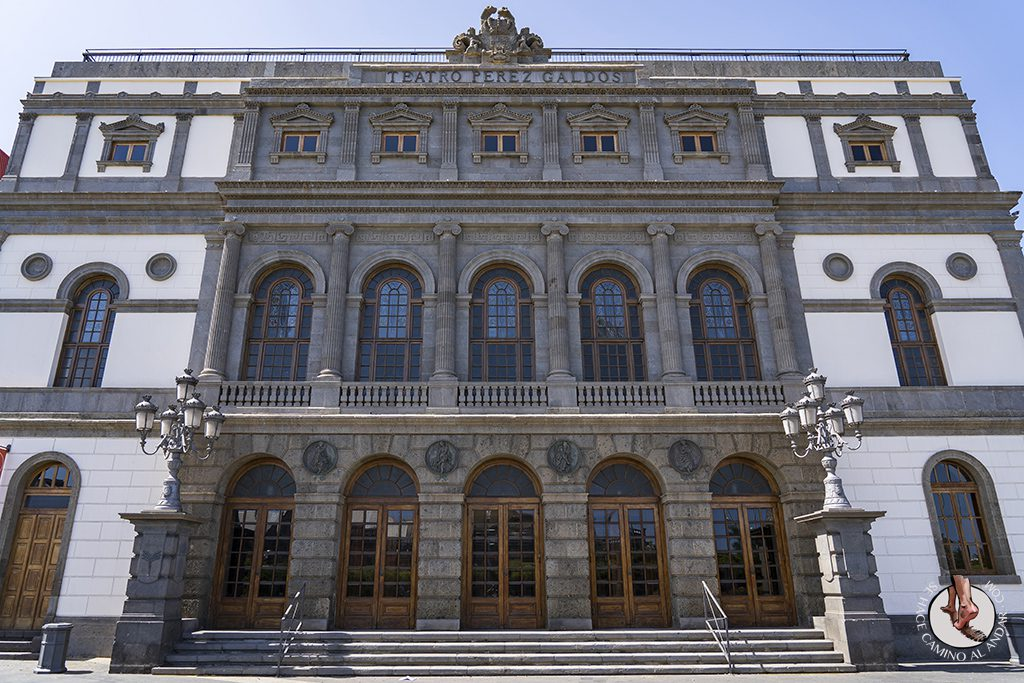 las palmas de gran canaria Teatro Perez Galdos