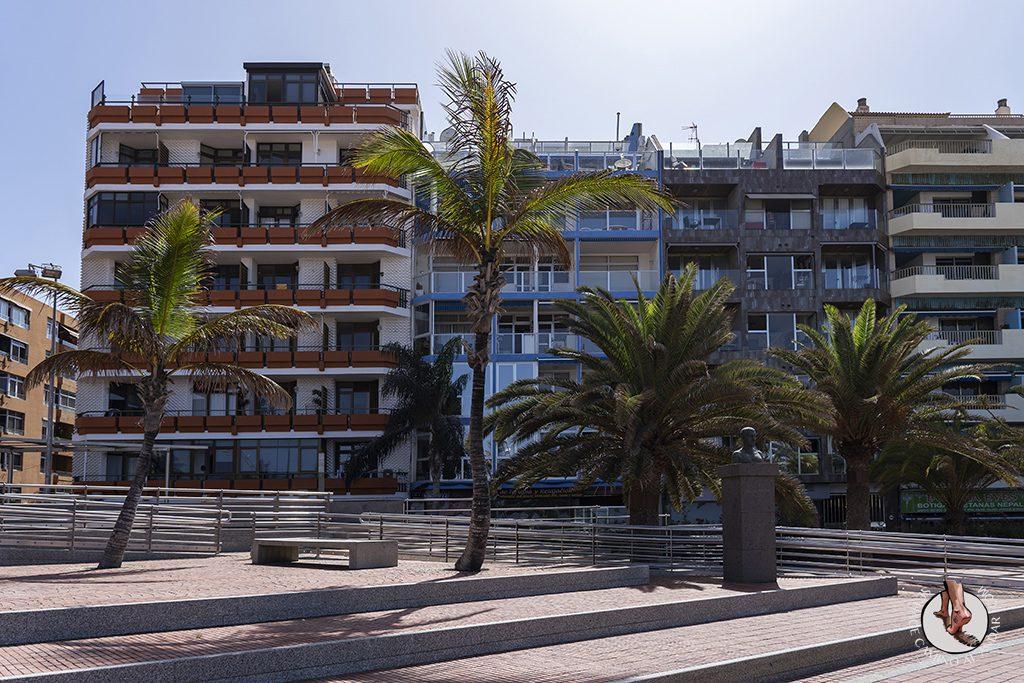 las palmas paseo maritimo edificios
