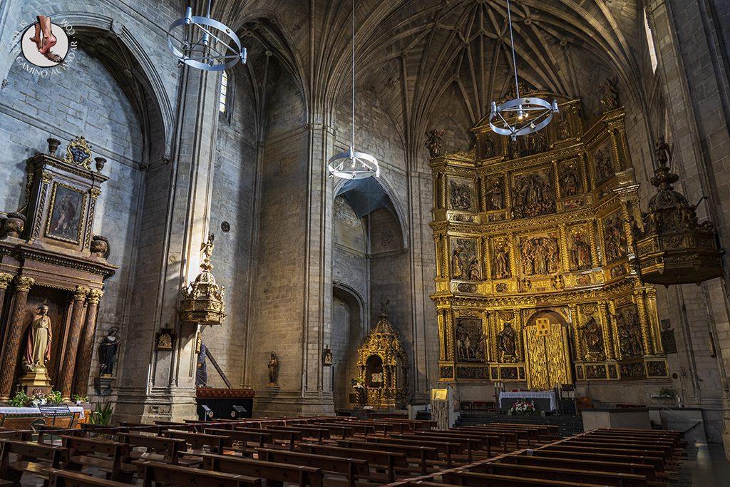 logroño Iglesia de Santiago el Real interior