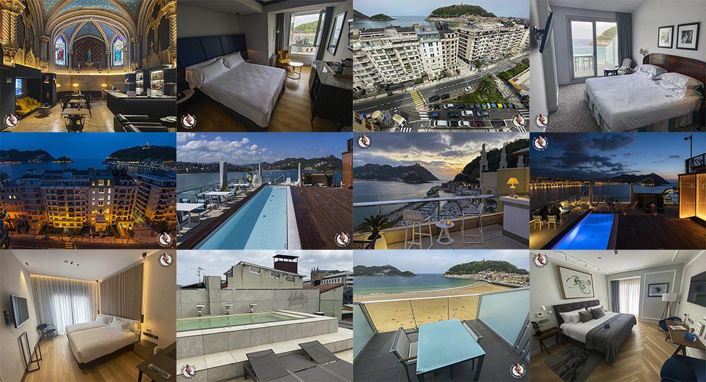 mejores hoteles de san Sebastián