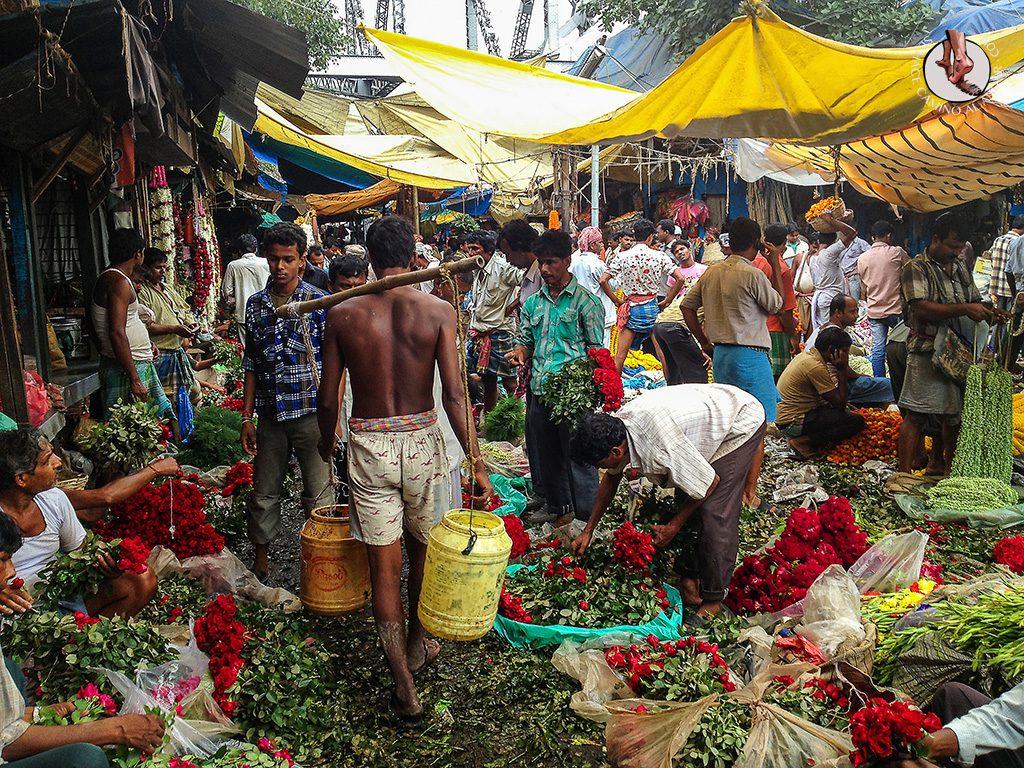 Mercado de las Flores Calcuta