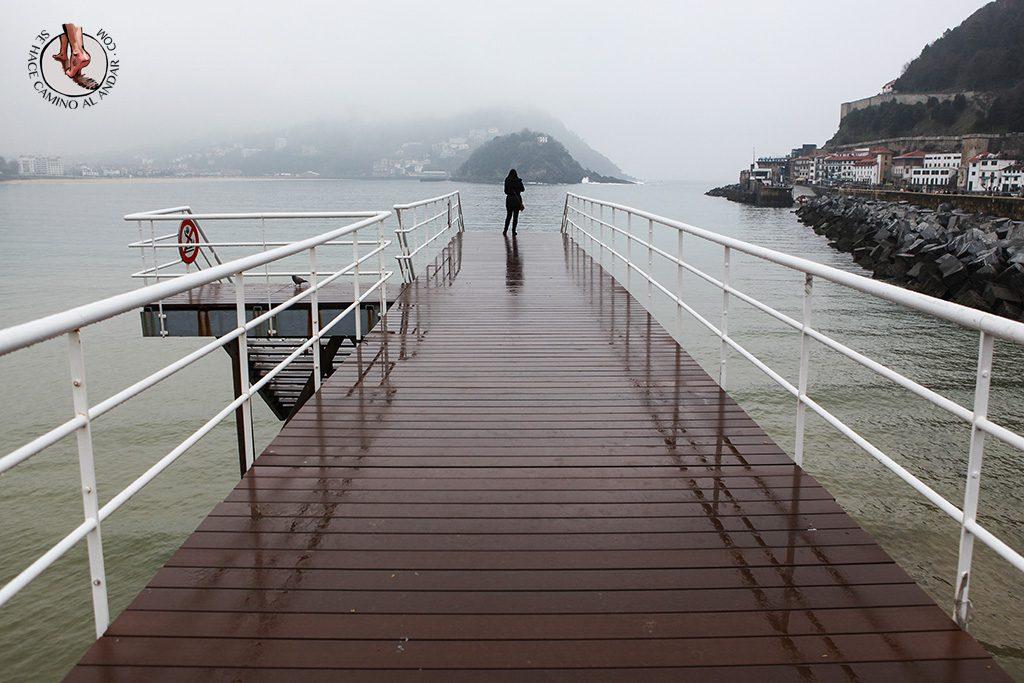 miradores de San Sebastian pasarela Nautico