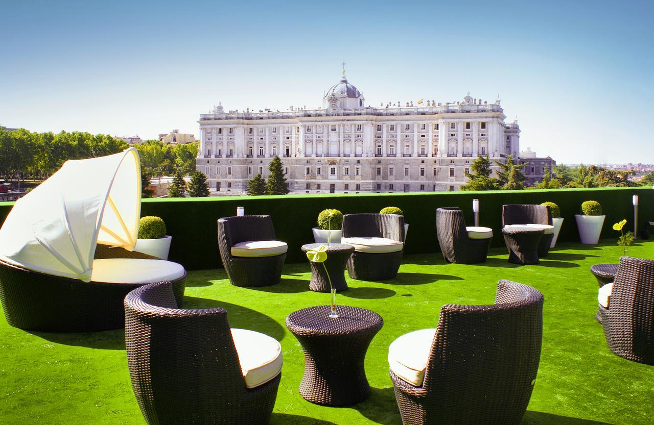 Miradores de Madrid Hotel Jardines de Sabatini Aparto Suites