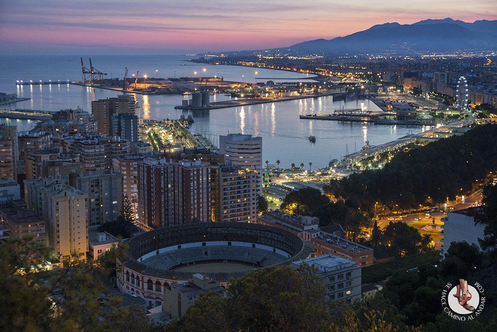 Miradores de Málaga mirador castillo Gibralfaro