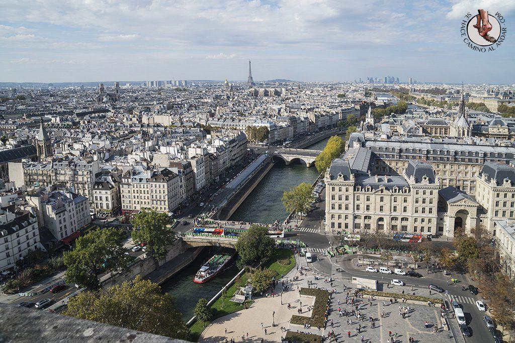 miradores de paris notredame torre plaza