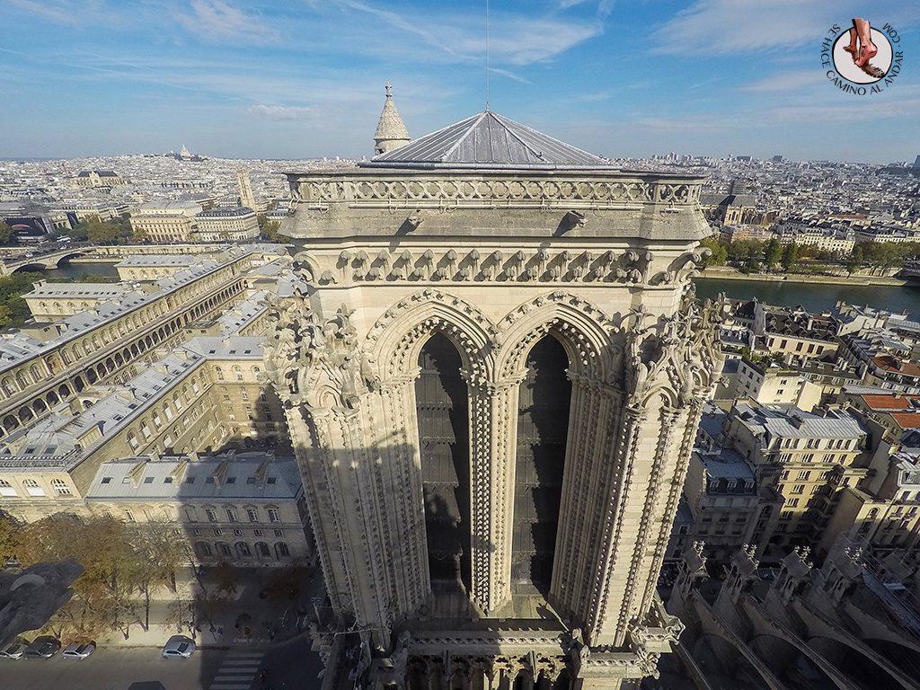miradores de paris notredame torre