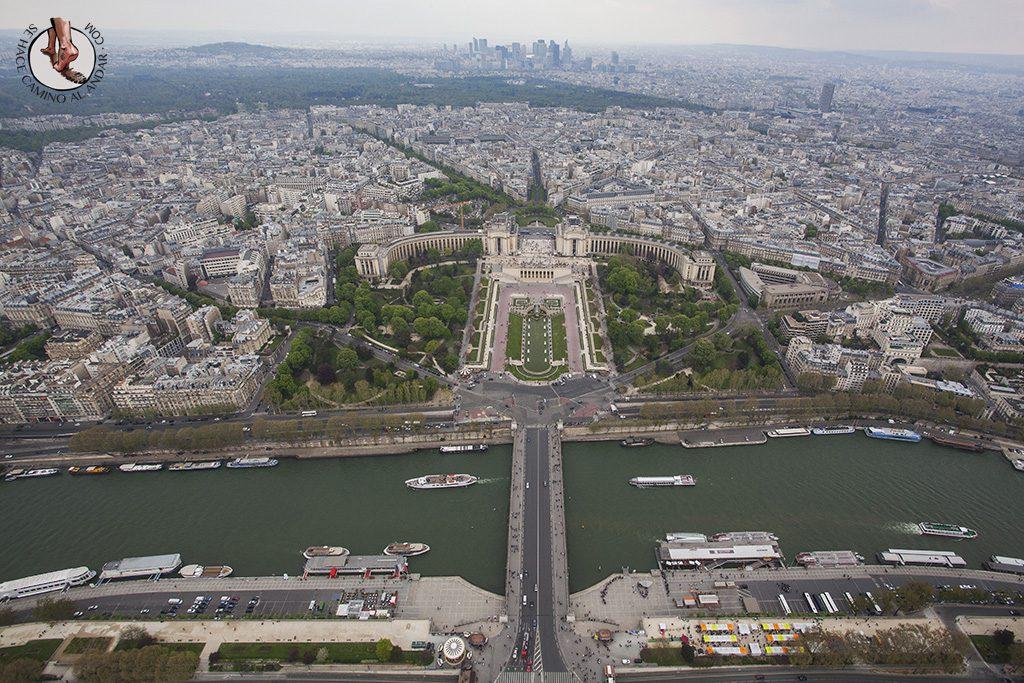 miradores de paris torre eiffel la cumbre trocadero