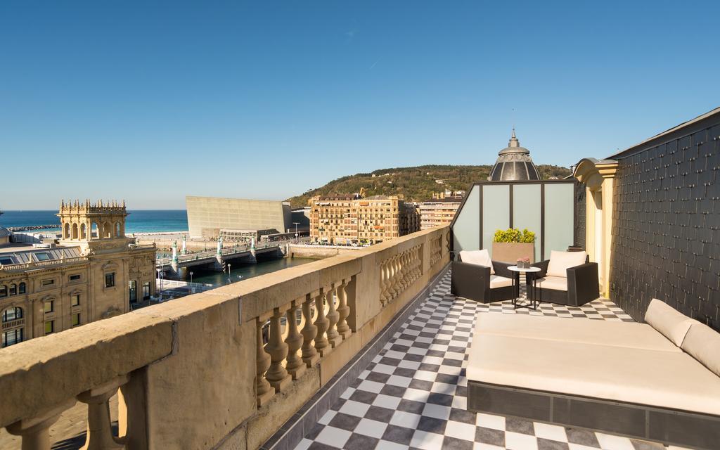 Miradores de San Sebastián hotel María Cristina terraza
