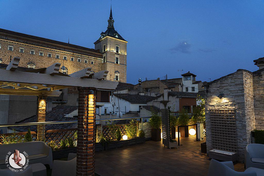 miradores de toledo Terraza Azotea Hotel Carlos V alcazar