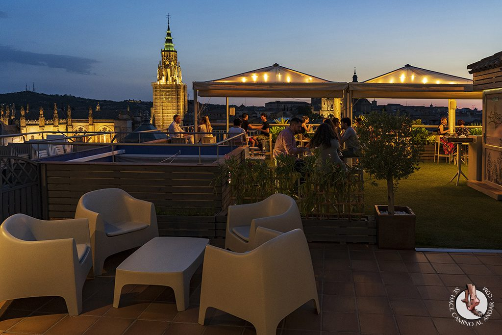 miradores de toledo Terraza Azotea Hotel Carlos V