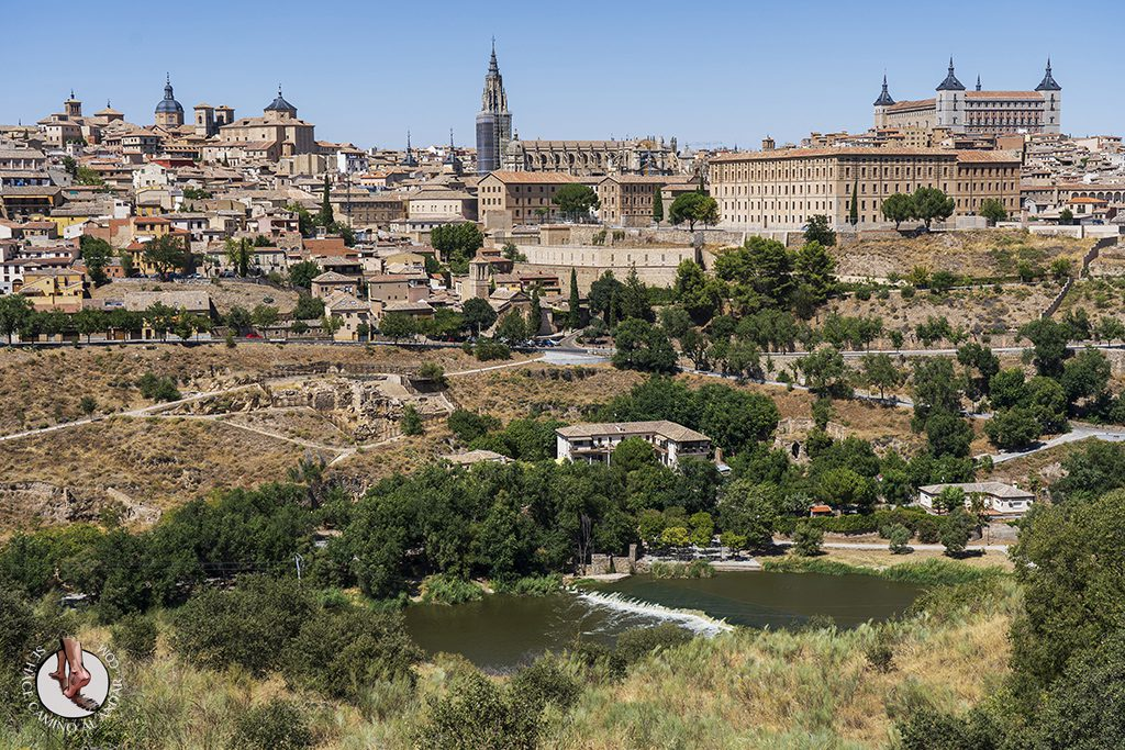 miradores de toledo mirador del valle catedral alcazar