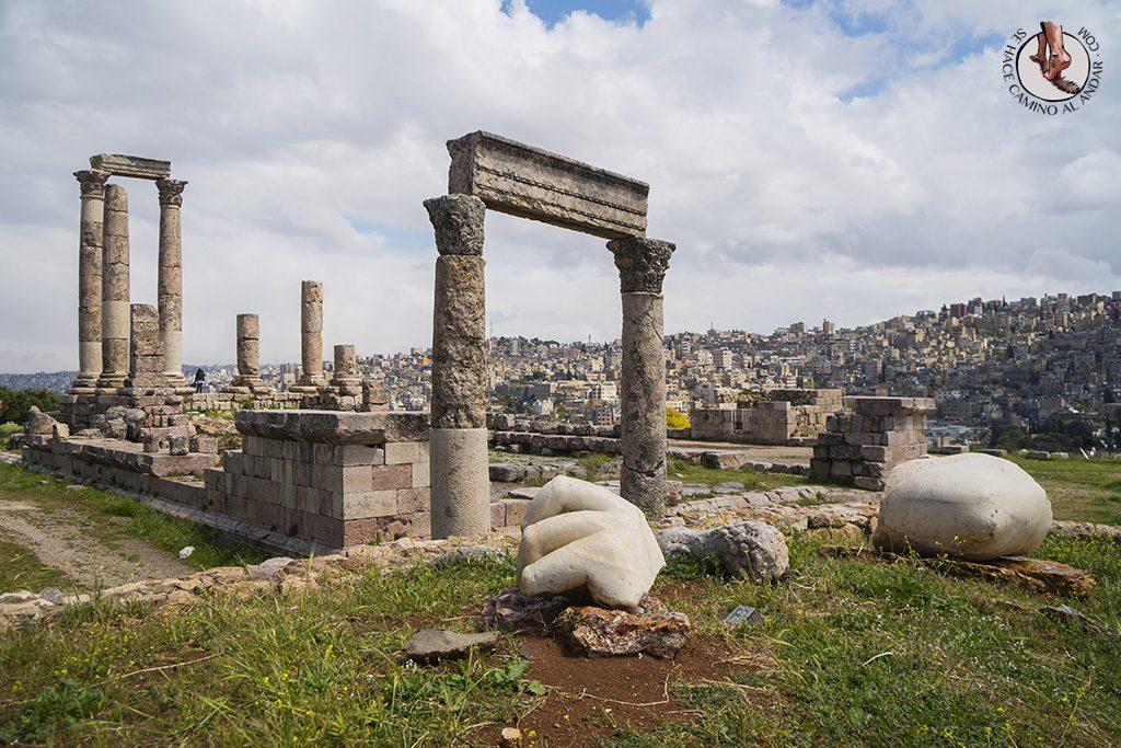 organizar viaje a jordania amman ciudadela
