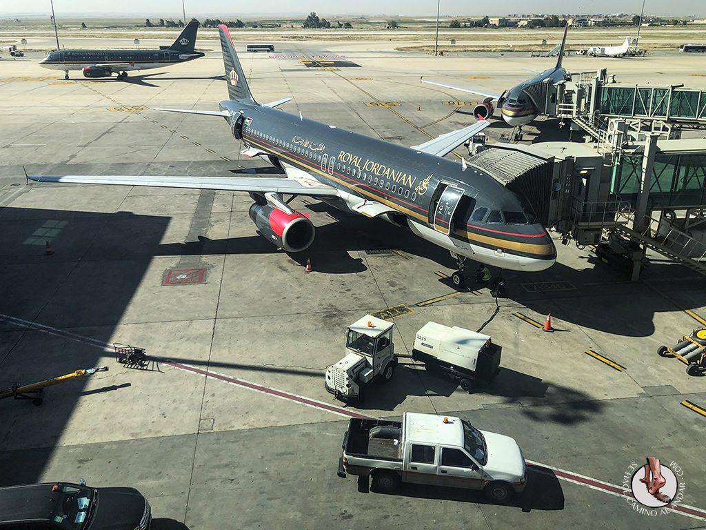 organizar viaje a jordania avion