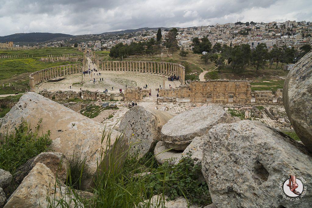organizar viaje a jordania jerash
