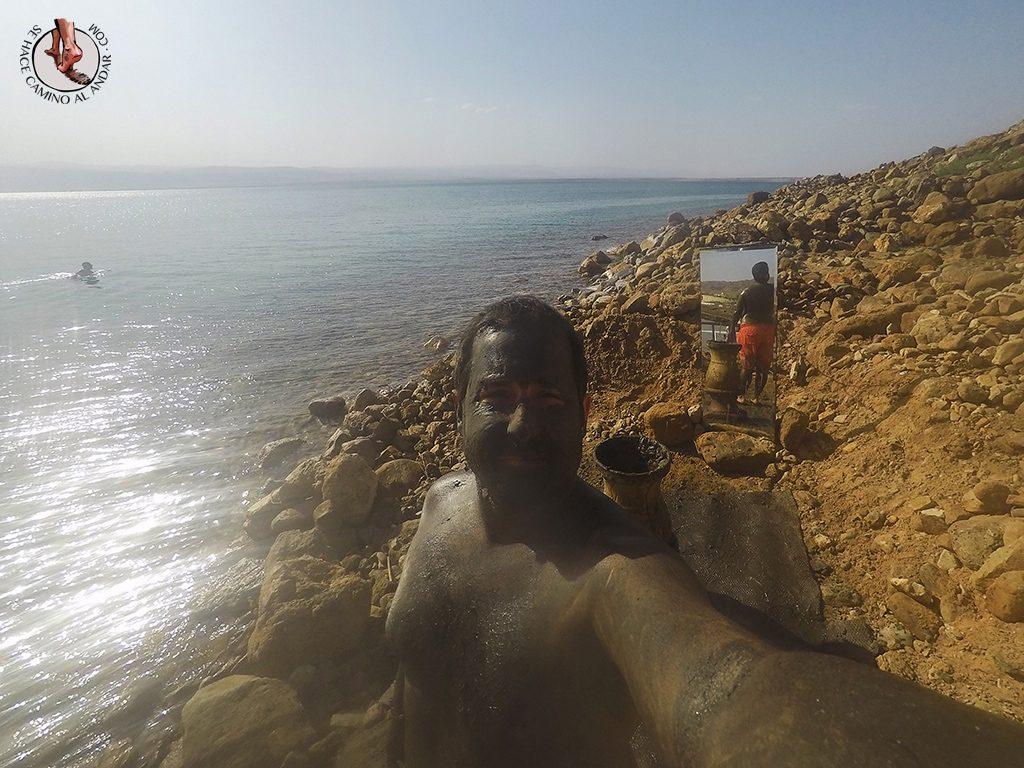 organizar viaje a jordania mar muerto barro