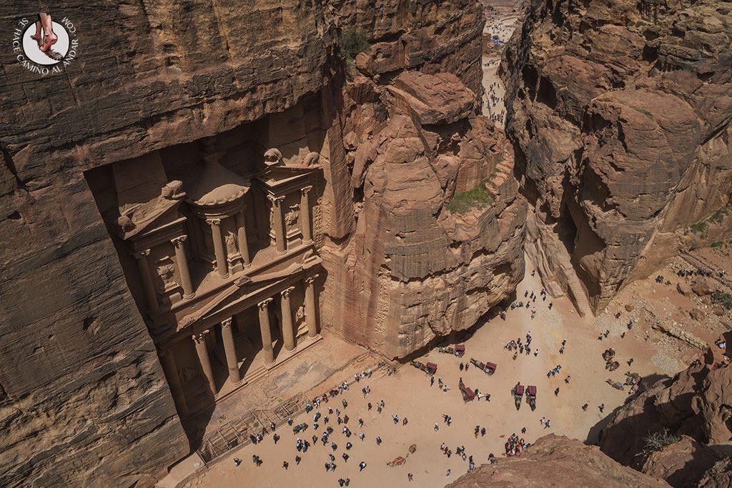 organizar viaje a jordania petra tesoro mirador alto