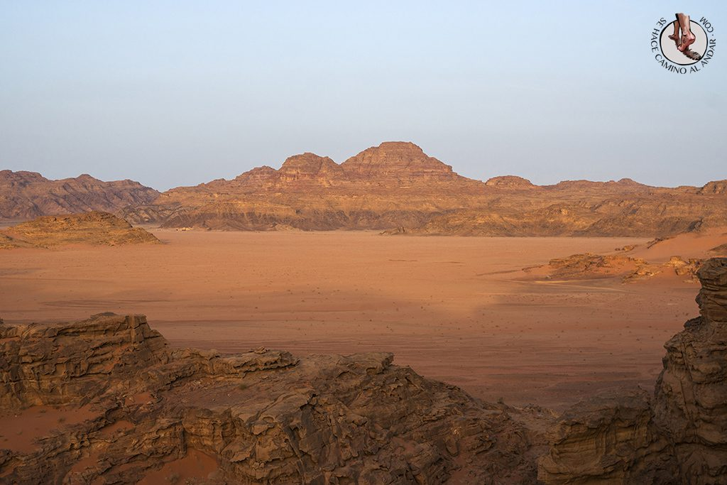 organizar viaje a jordania wadi rum amanecer