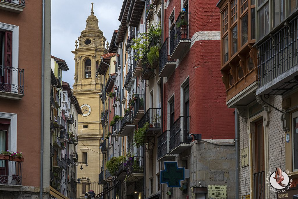 pamplona catedral calle curia