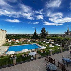 Parador Condes de Alba, único hotel con piscina en Zamora