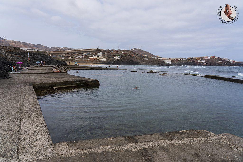 piscinas naturales gran canaria bocabarranco ola