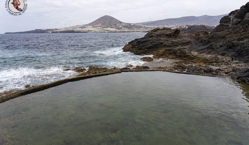 piscinas naturales gran canaria galdar la Furnia agua