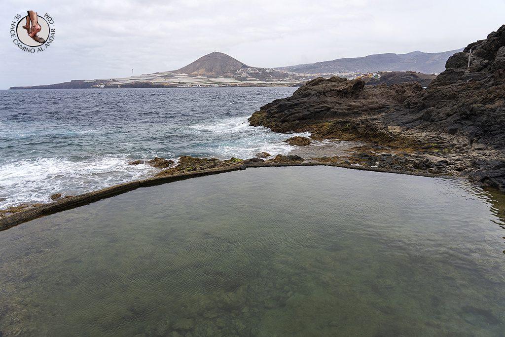 piscina natural gran canaria galdar la Furnia agua