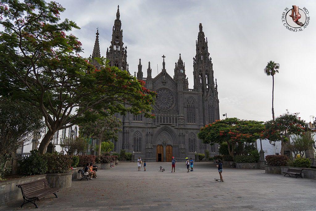 pueblos gran canaria arucas catedral