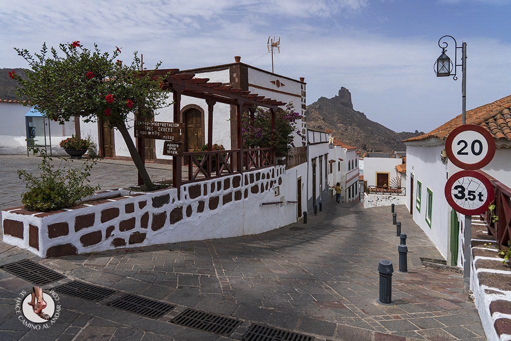 pueblos más bonitos de Gran Canaria tejeda calle