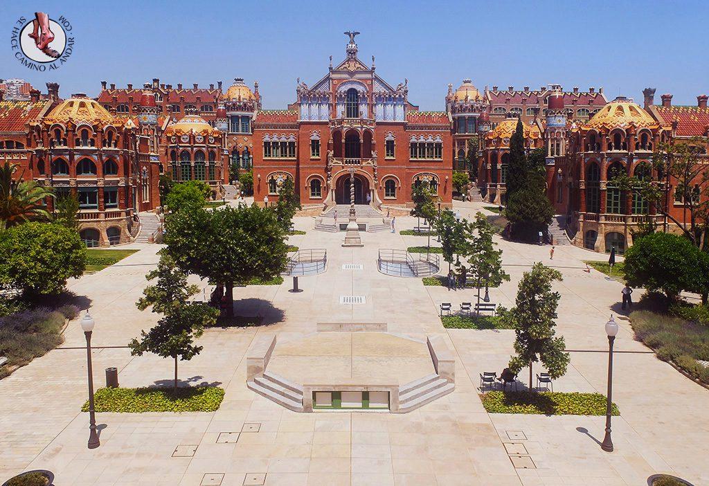 que ver en Barcelona hospital de sant pau