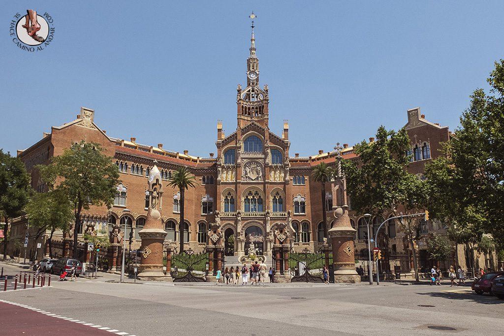 que ver en Barcelona hospital sant pau