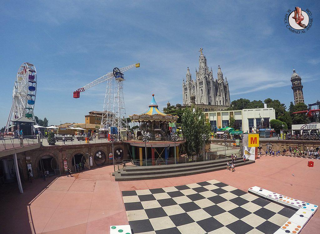 que ver en Barcelona parque de atracciones tibi dabo