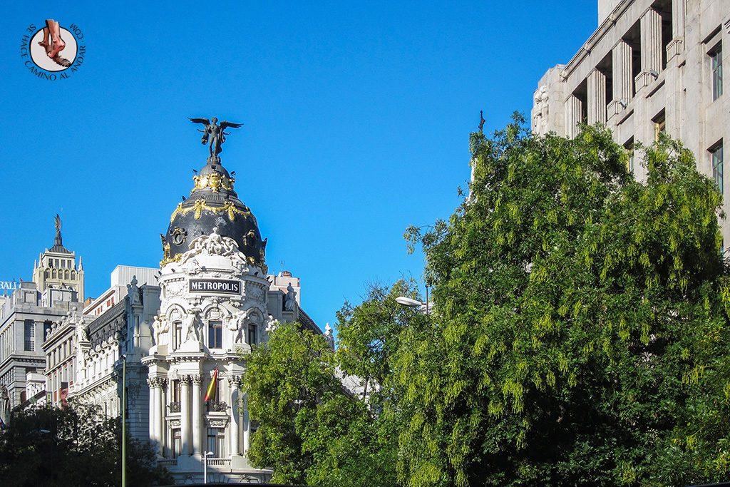que ver en Madrid gran via edificio metropolis