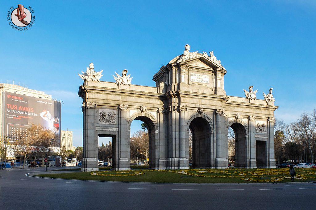 que ver en Madrid puerta de alcala