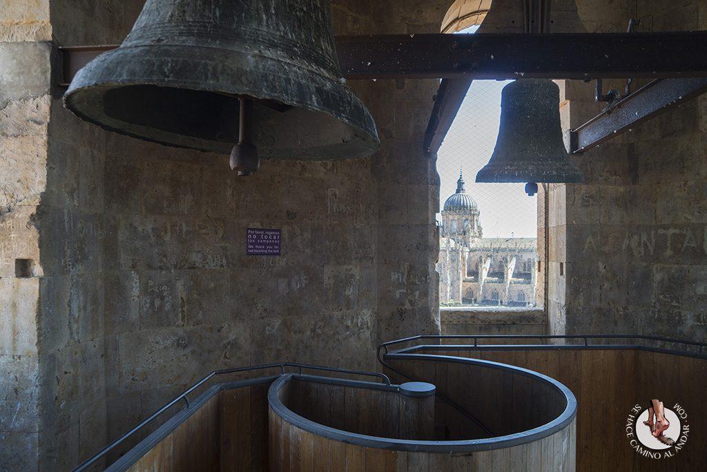 que ver en Salamanca Clerecia Scala Coeli campana