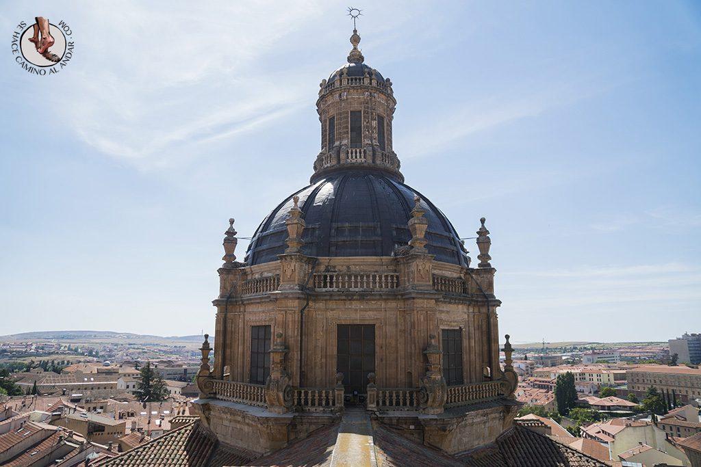 que ver en Salamanca Clerecia Scala Coeli cupula