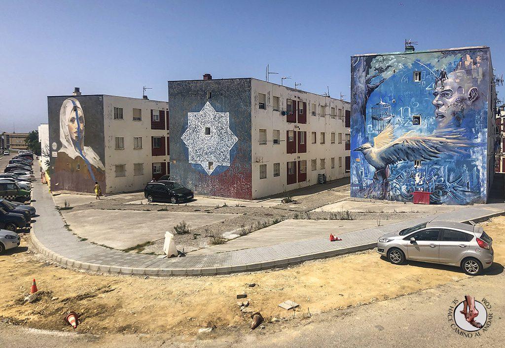 que ver en Tarifa graffiti fachadas
