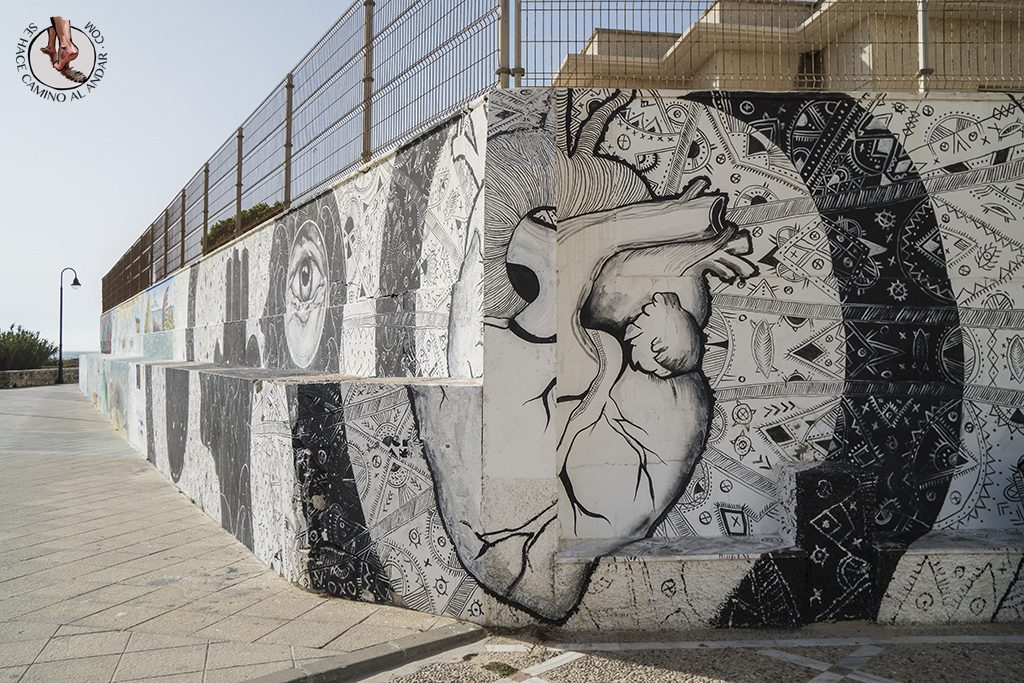 que ver en Tarifa graffiti mural