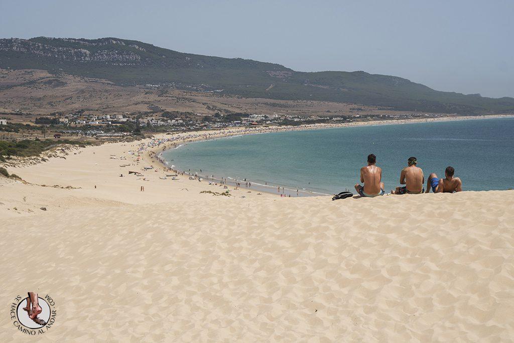 que ver en Tarifa playa de bolonia duna mirador